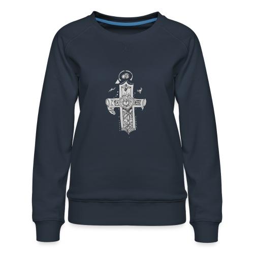 1527011938514cross - Women's Premium Sweatshirt