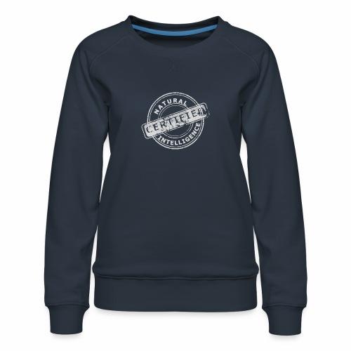 Natural Intelligence inside - Women's Premium Sweatshirt
