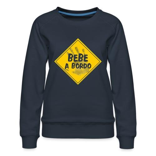 BABY ON BOARD - Women's Premium Sweatshirt