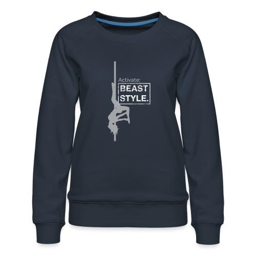 Activate: Beast Style - Women's Premium Sweatshirt