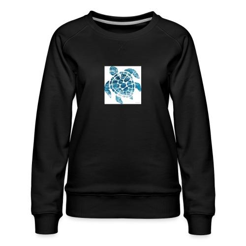turtle - Women's Premium Sweatshirt