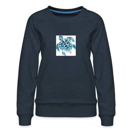 turtle - Women's Premium Sweatshirt