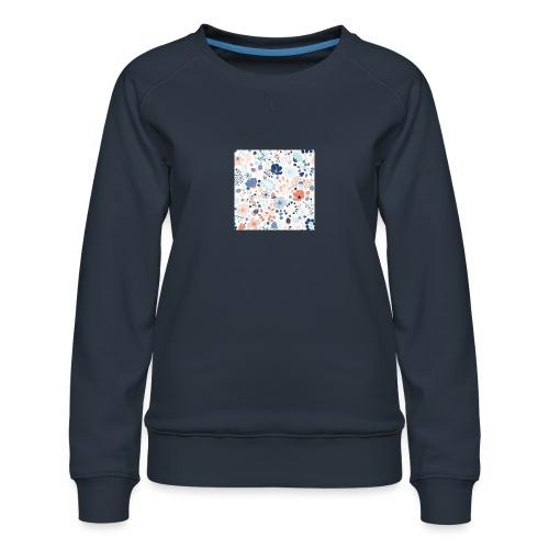 flowers - Women's Premium Sweatshirt