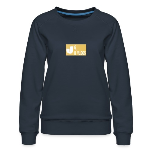 J & O Vlogs - Women's Premium Slim Fit Sweatshirt