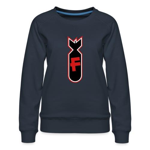 Character Crusade Fbomb - Women's Premium Sweatshirt