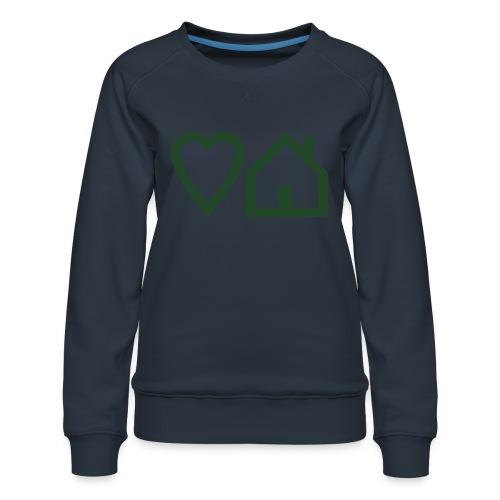 ts-3-love-house-music - Women's Premium Sweatshirt