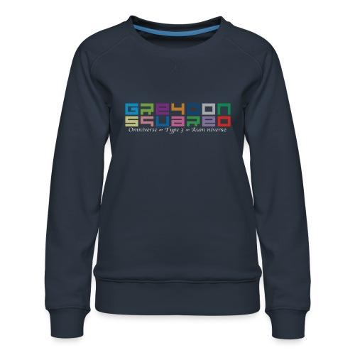 Greydon Square Colorful Tshirt Type 3 - Women's Premium Sweatshirt