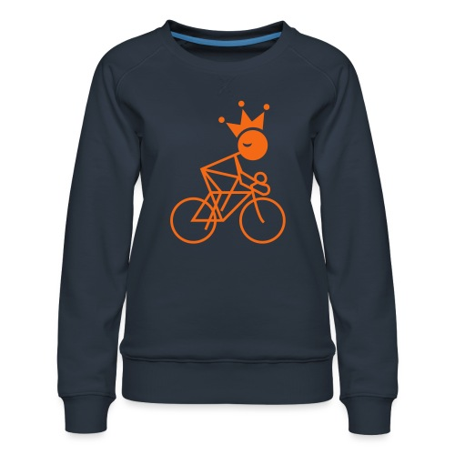 Winky Cycling King - Women's Premium Sweatshirt