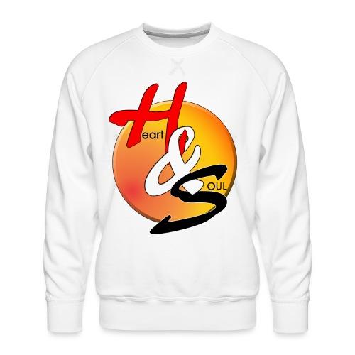 Rcahas logo gold - Men's Premium Sweatshirt