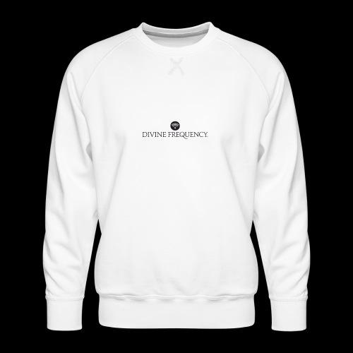Black Divine Frequency - Men's Premium Sweatshirt