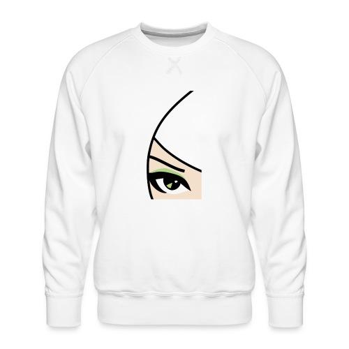 Banzai Chicks Single Eye Women's T-shirt - Men's Premium Sweatshirt