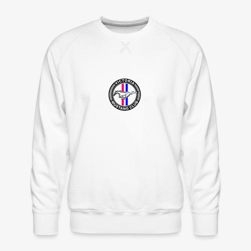 Victoria Mustang Club Logo - Men's Premium Sweatshirt