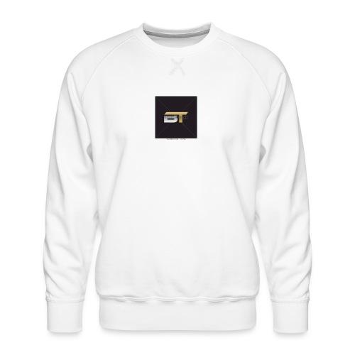 BT logo golden - Men's Premium Sweatshirt