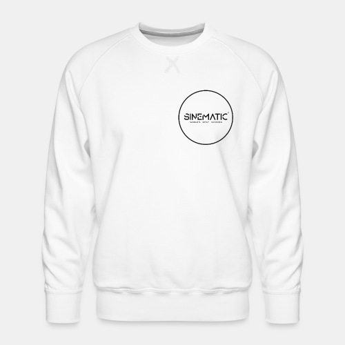 Logo Sinematic - Men's Premium Sweatshirt