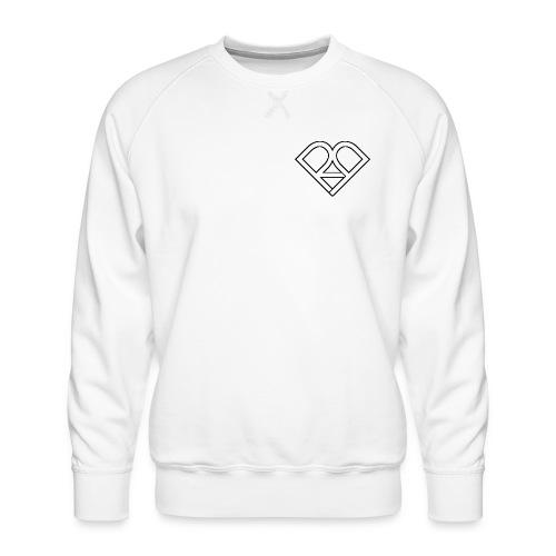 Riggi & Piros Heart - Men's Premium Sweatshirt