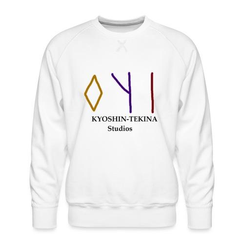 Kyoshin-Tekina Studios logo (black test) - Men's Premium Sweatshirt