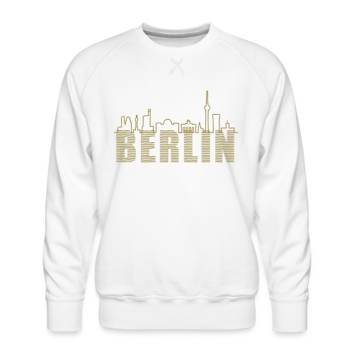 Skyline of Berlin - Men's Premium Sweatshirt