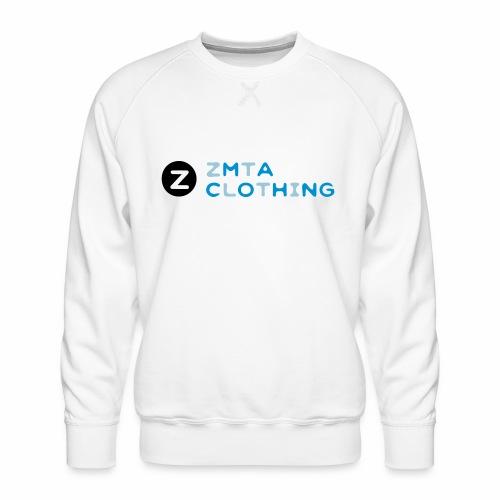 ZMTA logo products - Men's Premium Sweatshirt