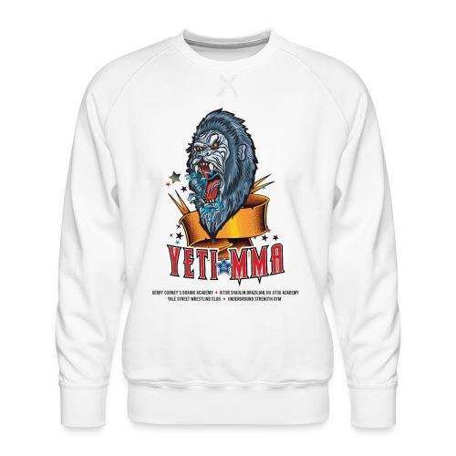 YETI MMA Never Quit 2020 Fundraiser - Men's Premium Sweatshirt