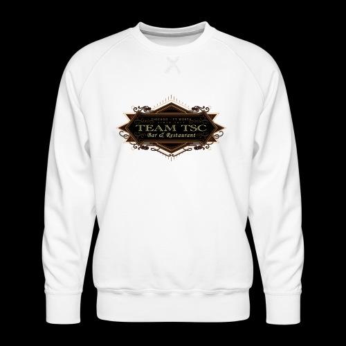 teamTSC badge03 Bar - Men's Premium Sweatshirt