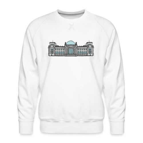 Reichstag building Berlin - Men's Premium Sweatshirt