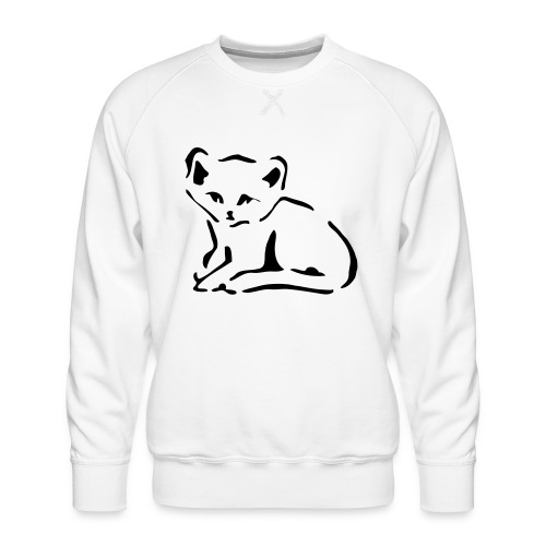 Kitty Cat - Men's Premium Sweatshirt