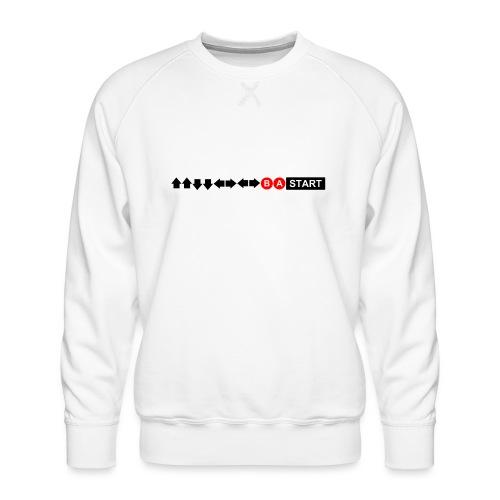 Contra Code Men's Ringer T-Shirt - Men's Premium Sweatshirt