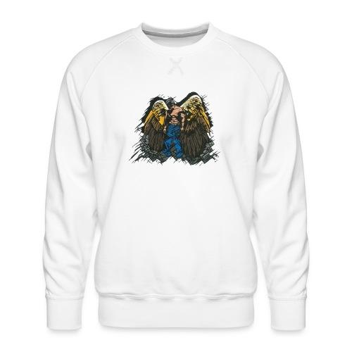 Angel - Men's Premium Sweatshirt
