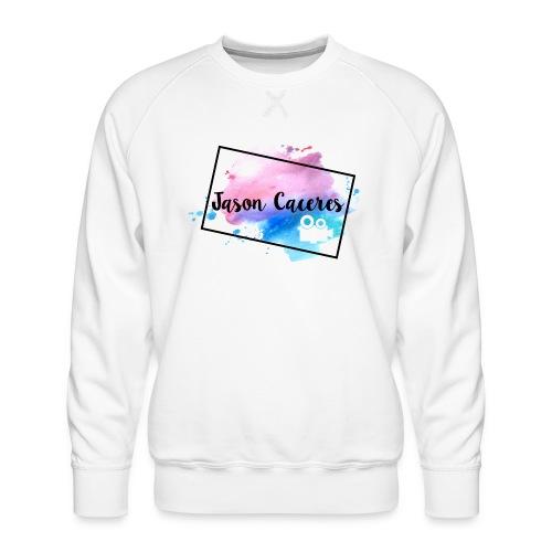 Jason Caceres Opening Intro Logo - Men's Premium Sweatshirt