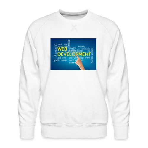 web development design - Men's Premium Sweatshirt