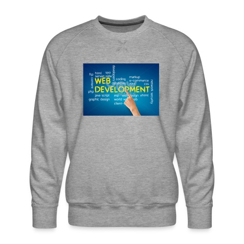 web development design - Men's Premium Sweatshirt