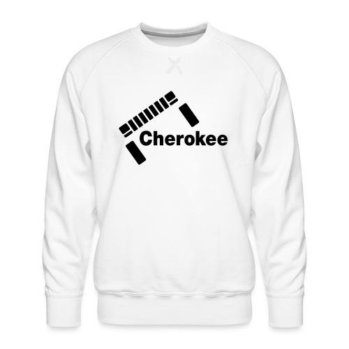 Slanted Cherokee - Men's Premium Sweatshirt