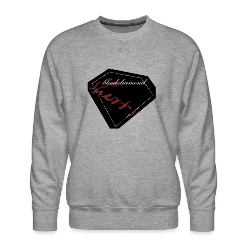 Blood Diamond -black logo - Men's Premium Sweatshirt