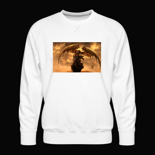 Dragon féroce - Men's Premium Sweatshirt