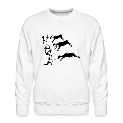 Lascaux Cave Painting - Men's Premium Sweatshirt