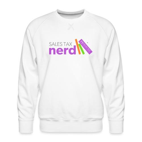 Sales Tax Nerd - Men's Premium Sweatshirt