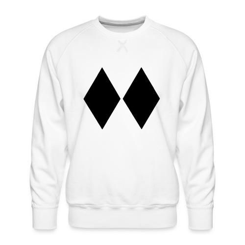 Double Black Diamond - Men's Premium Sweatshirt