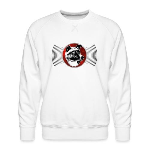 Laika The Space Dog - Men's Premium Sweatshirt