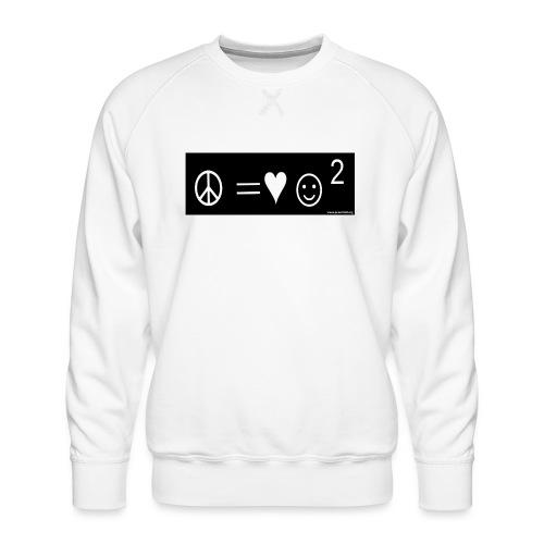 Peace Equals - Men's Premium Sweatshirt