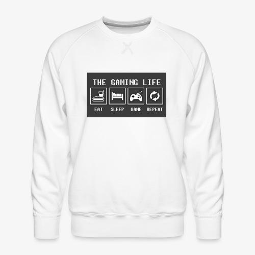 Gaming is life - Men's Premium Sweatshirt