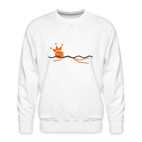 Winky Swimming King - Men's Premium Sweatshirt