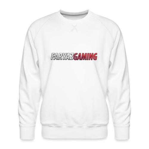 FaryazGaming Text - Men's Premium Sweatshirt