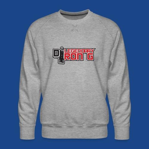 Ron G logo - Men's Premium Sweatshirt