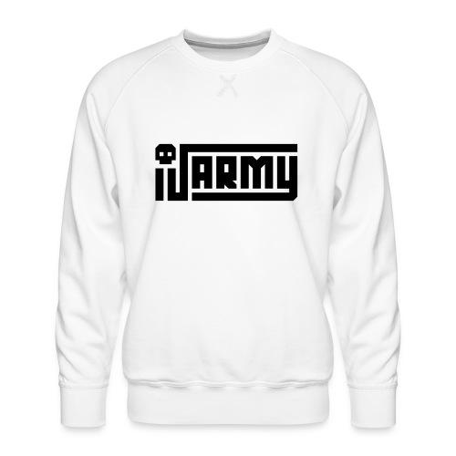 iJustine - iJ Army Logo - Men's Premium Sweatshirt
