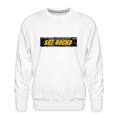 RockoWear Banner - Men's Premium Sweatshirt