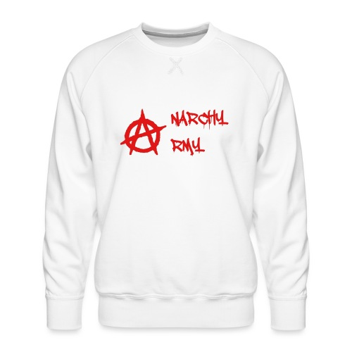 Anarchy Army LOGO - Men's Premium Sweatshirt