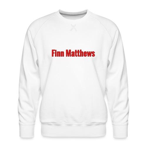 FM Logo - Men's Premium Sweatshirt