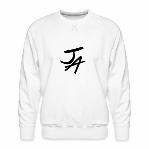 Jake Amodio Black Logo - Men's Premium Sweatshirt