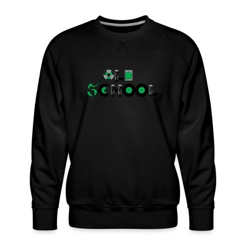 Old School Music - Men's Premium Sweatshirt
