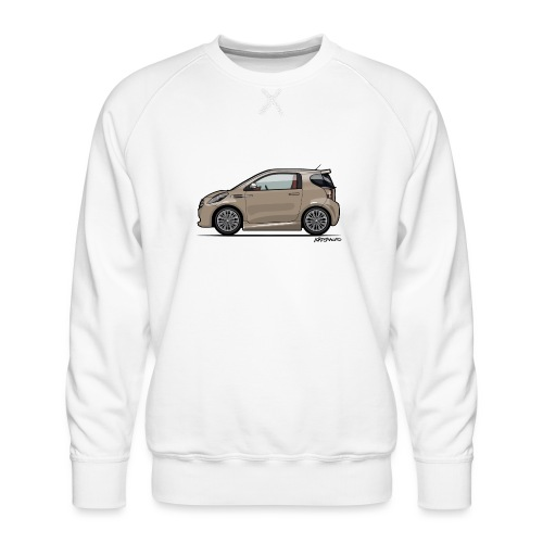 AM Cygnet Blonde Metallic Micro Car - Men's Premium Sweatshirt